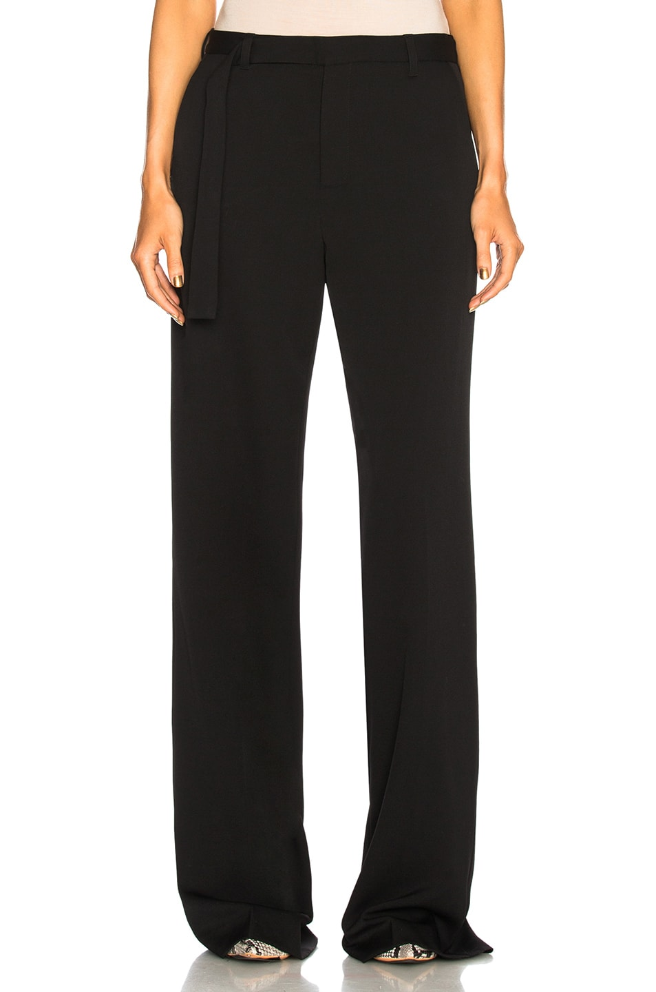 Image 1 of Y Project Wide Leg Pant in Black