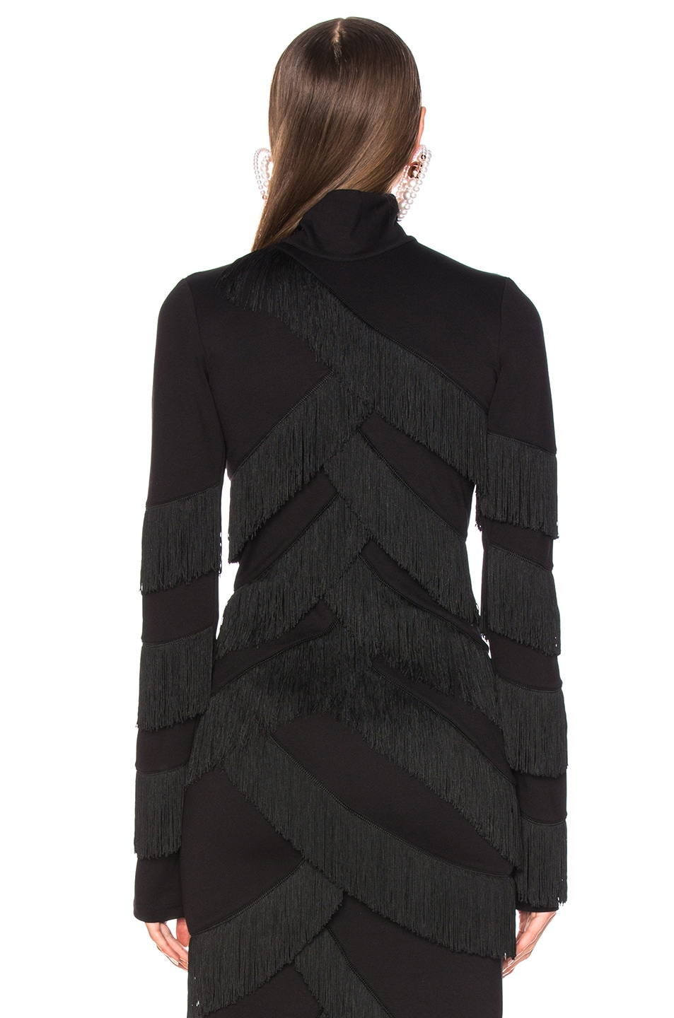 Image 3 of Y/Project Fringe Top in Black