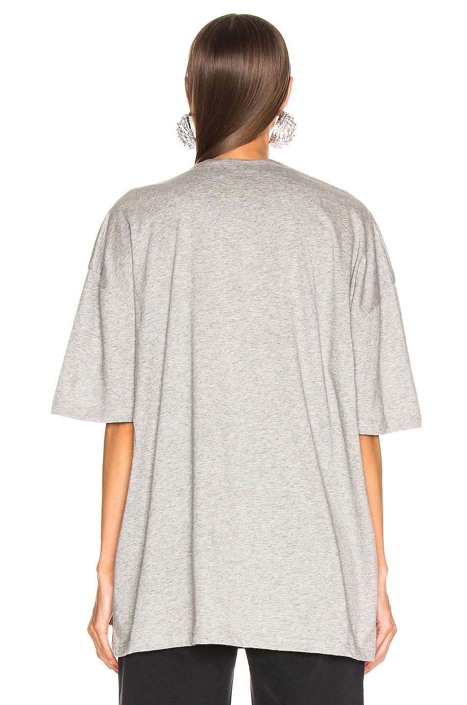 Image 3 of Y/Project Push Up T Shirt in Grey