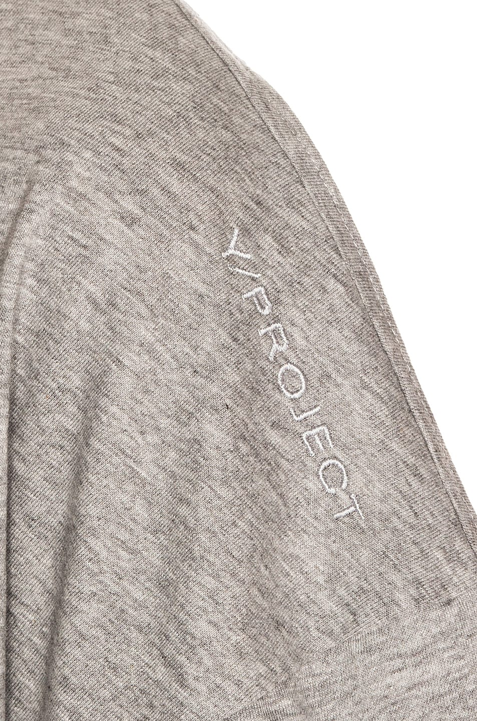 Image 5 of Y/Project Push Up T Shirt in Grey