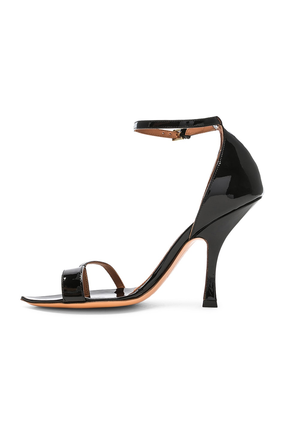 Image 6 of Y/Project High Heel Crystal Sandal in Black