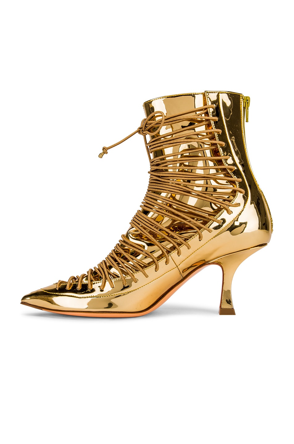 Image 5 of Y/Project 19513 Ankle Boot in Gold