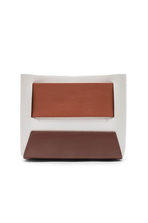 Image 3 of Yuzefi Dinky Bag in Rust & Bruciato