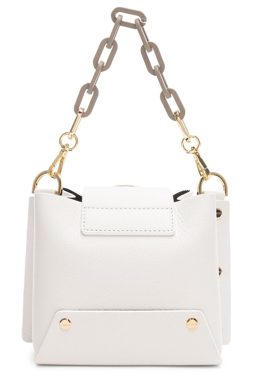 Image 3 of Yuzefi Mini Delila Bag in Bianco & Khaki