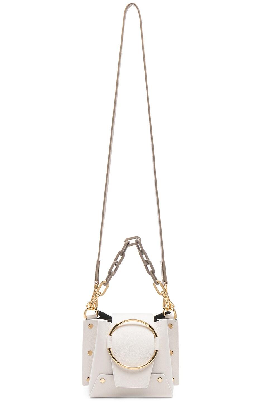 Image 6 of Yuzefi Mini Delila Bag in Bianco & Khaki