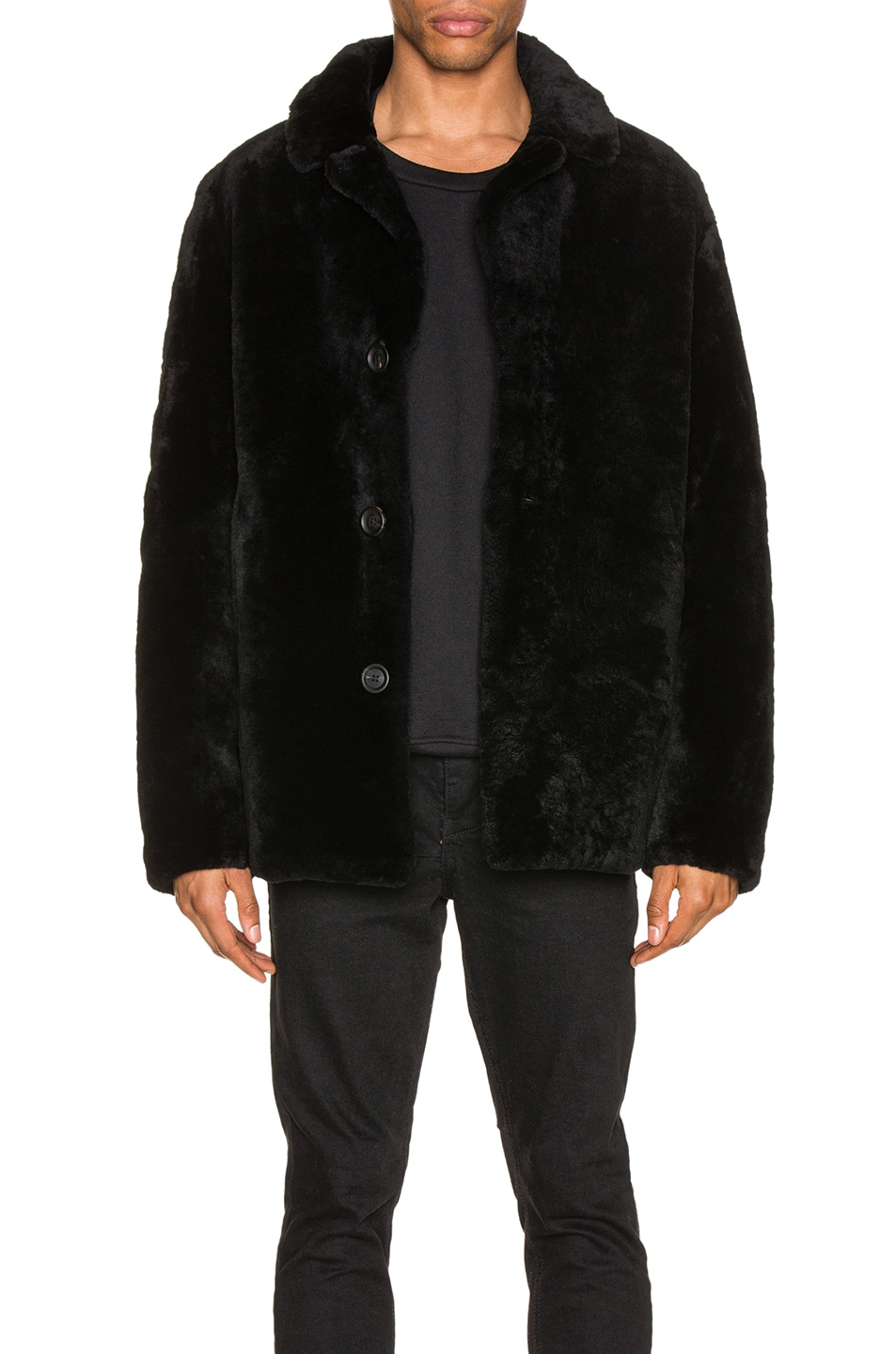 Yves Salomon Coats Merinos Lamb Coat