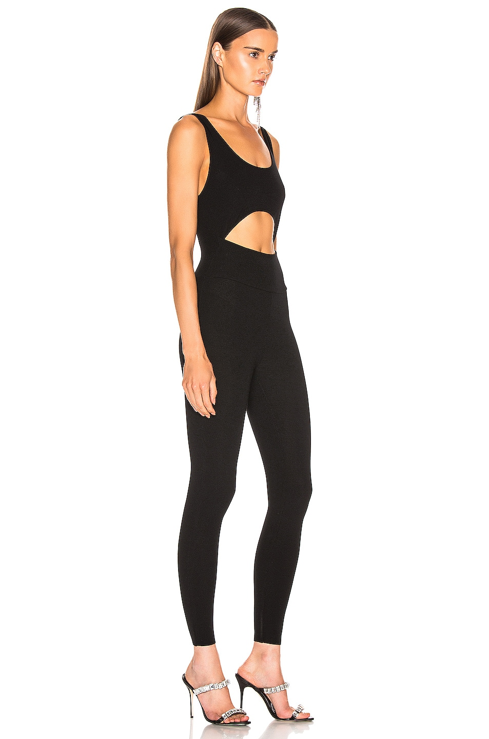 Image 2 of Zeynep Arcay Knit Full Jumpsuit in Black