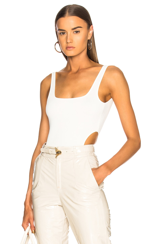 ZEYNEP ARCAY Knit Body Suit in White