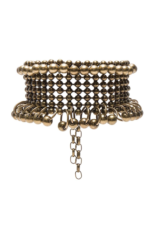 Image 1 of Zimmermann Metal Bead Collar in Antique Brass