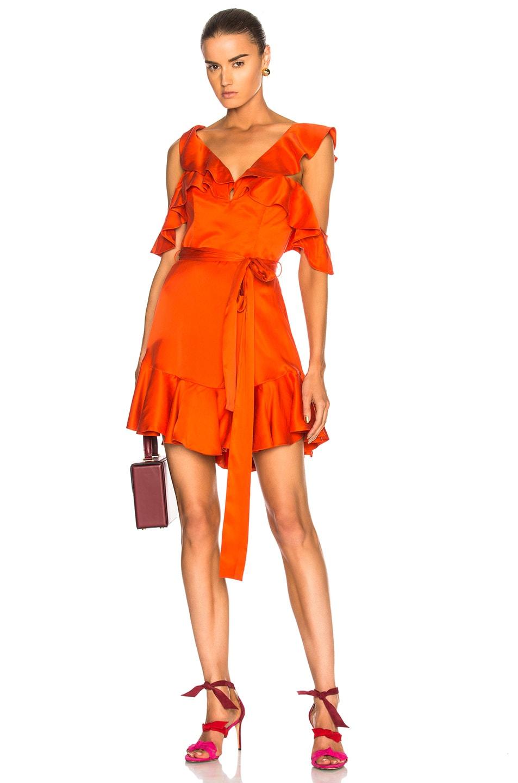 Zimmermann V Dress in Red