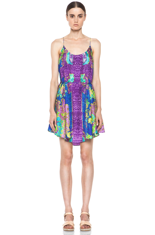 Image 1 of Zimmermann Brightside Swing Dress in Print