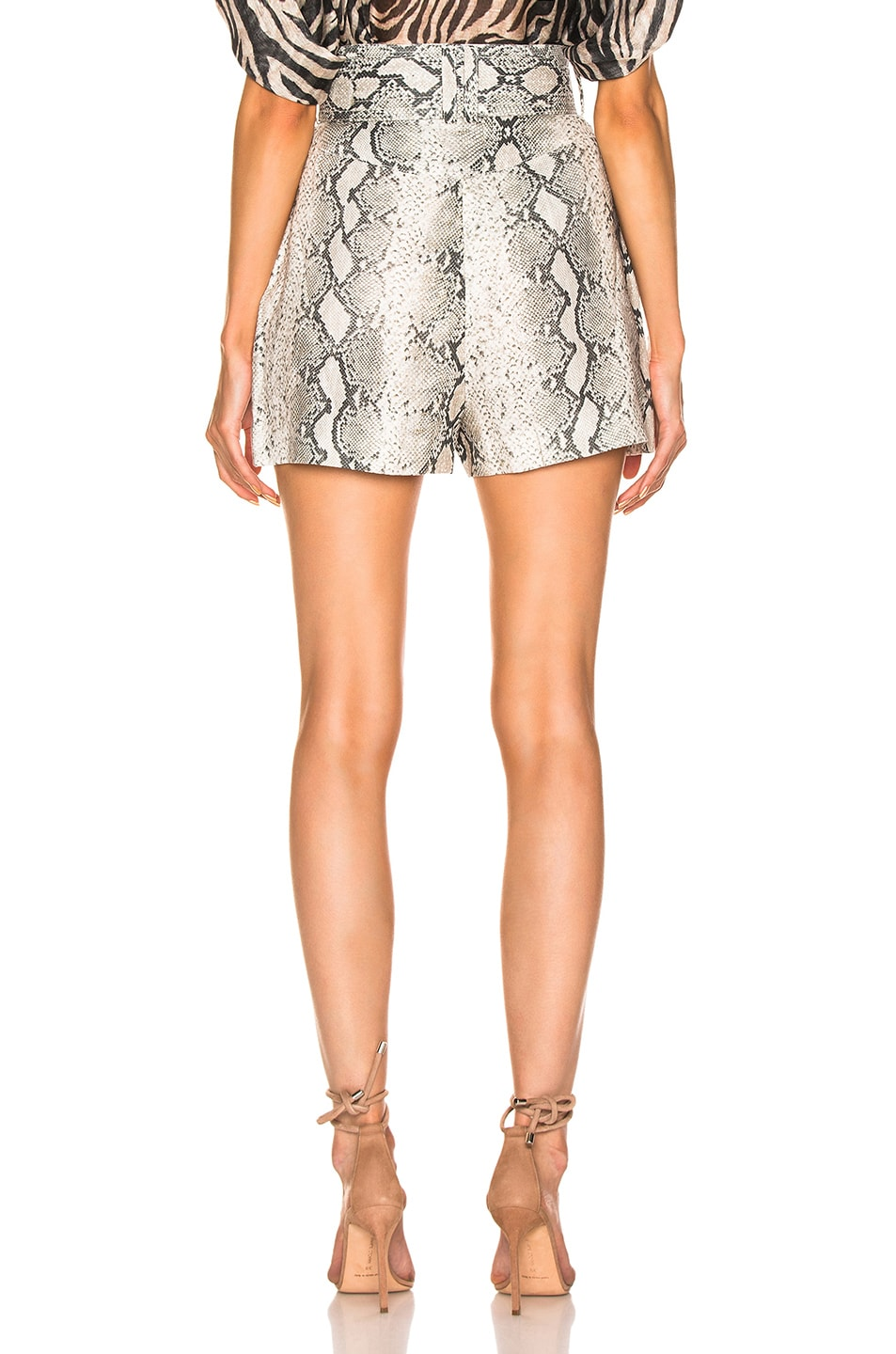 Image 3 of Zimmermann Corsage Safari Short in Python
