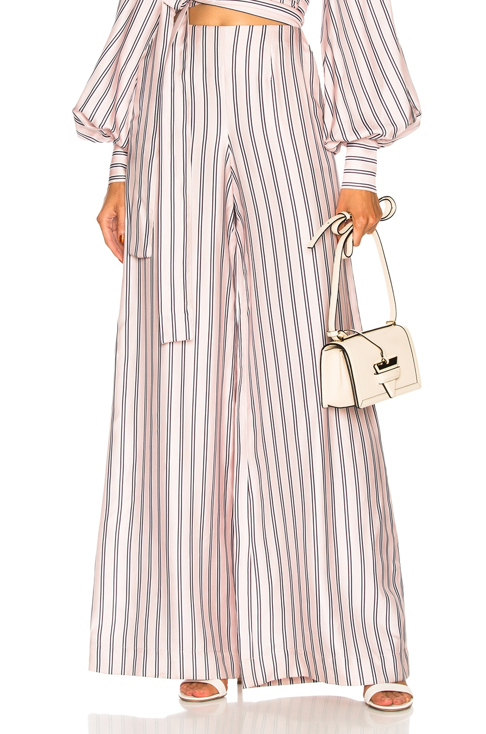Image 1 of Zimmermann Sunny Relaxed Pant in Musk Multi Stripe