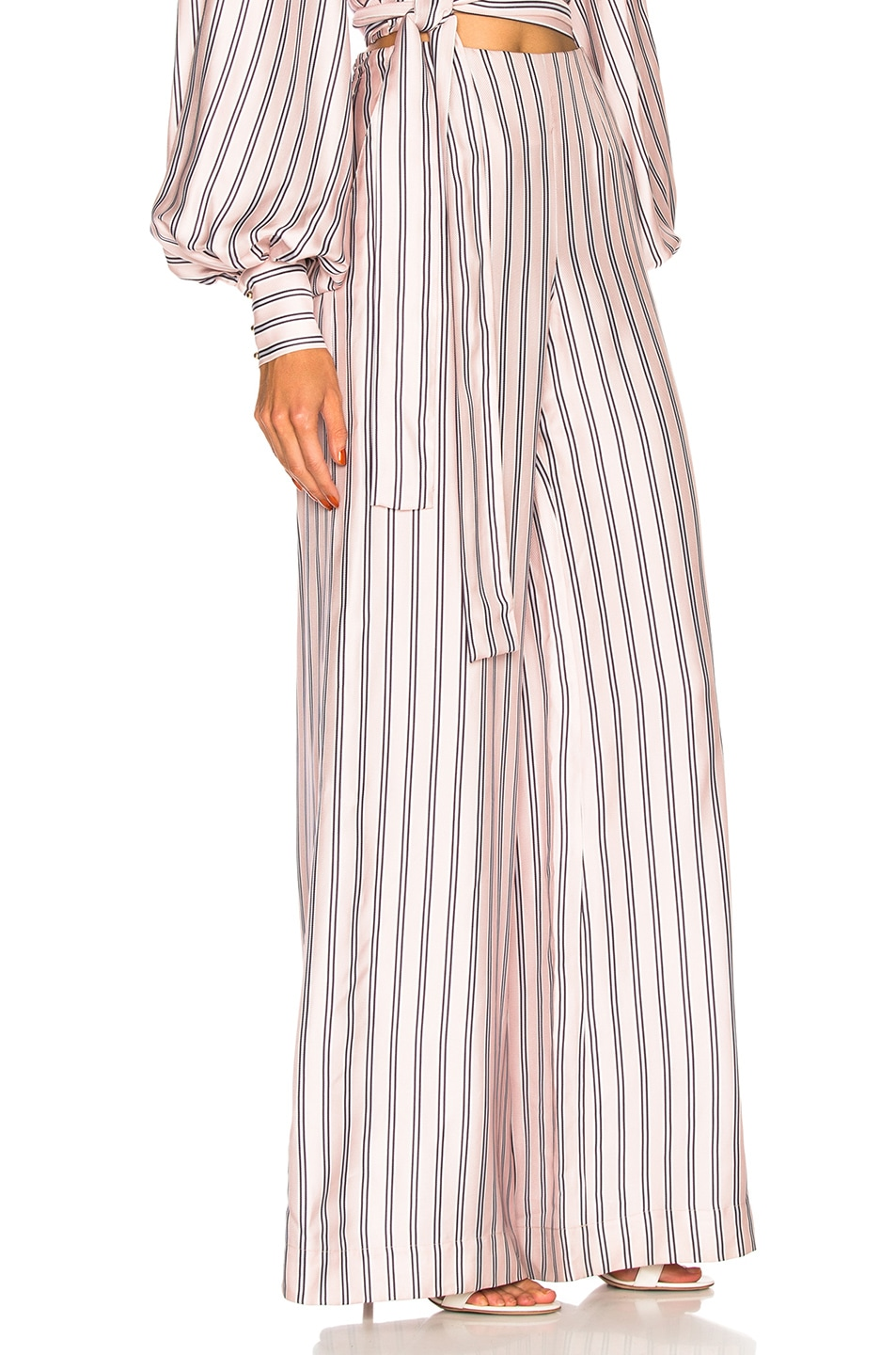 Image 2 of Zimmermann Sunny Relaxed Pant in Musk Multi Stripe