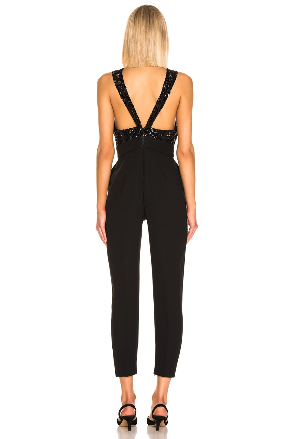 Image 3 of Zuhair Murad Bow Belt Jumpsuit in Black