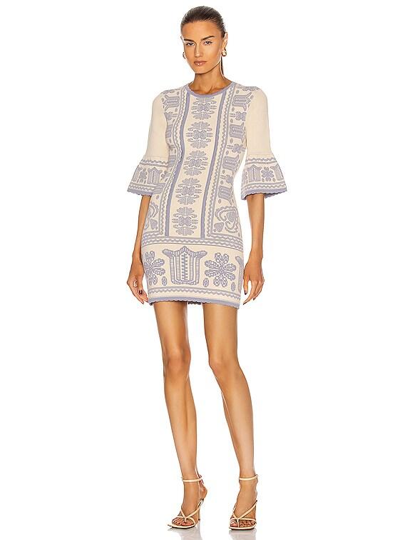 Devotion Long Sleeve Dress in Oatmeal
