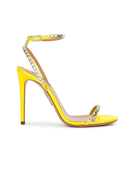 Very Vera 105 Sandal in Fluo Yellow