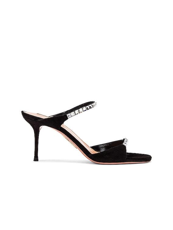 Diamante 75 Sandal in Black