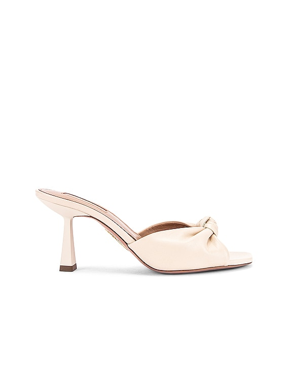 Pasha 75 Mule in Cream