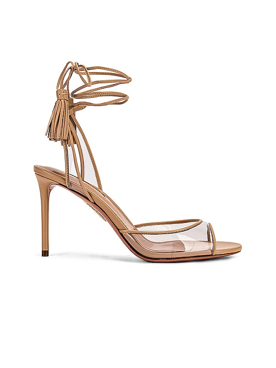Nudist 85 Sandal in Nude