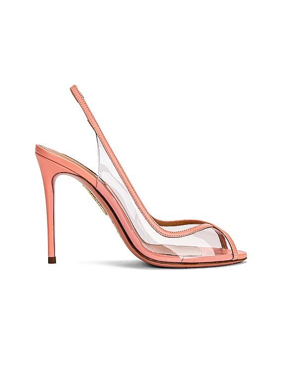 Temptation 105 Peep Toe Heel in Peonia Pink