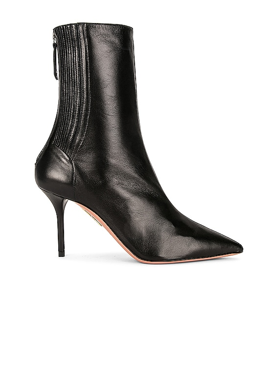 Saint Honore 85 Bootie in Black