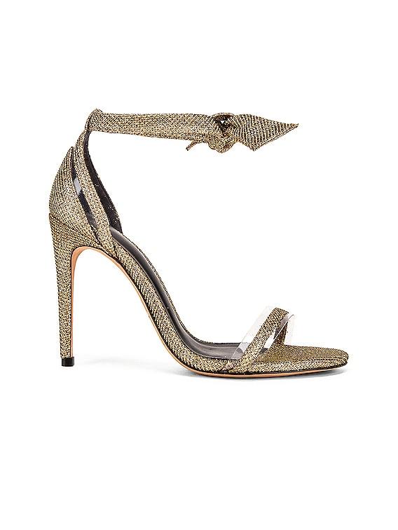 Clarita Heels in Gold