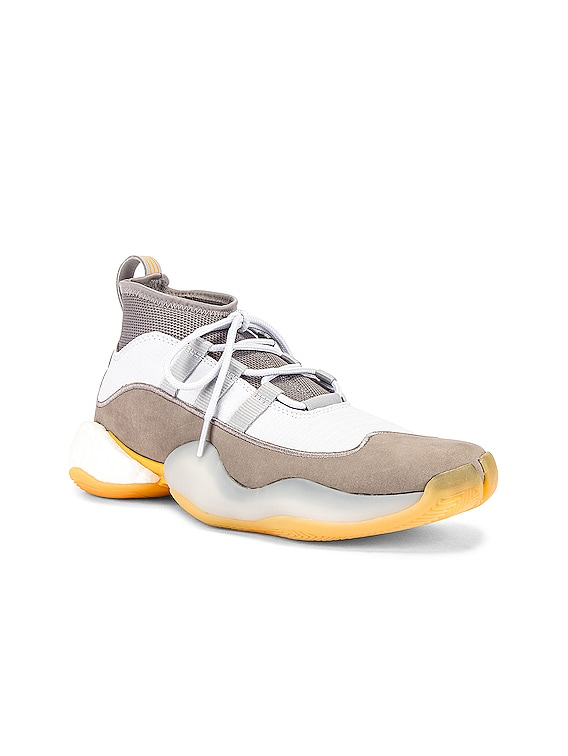Crazy BYW Sneaker in Grey & White