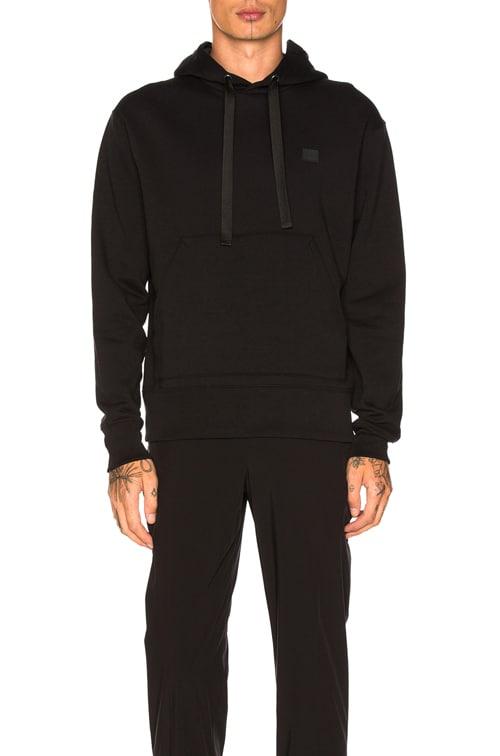 Ferris Face Hoodie in Black