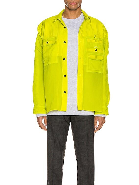 Orallo Nylon Jacket in Sharp Yellow