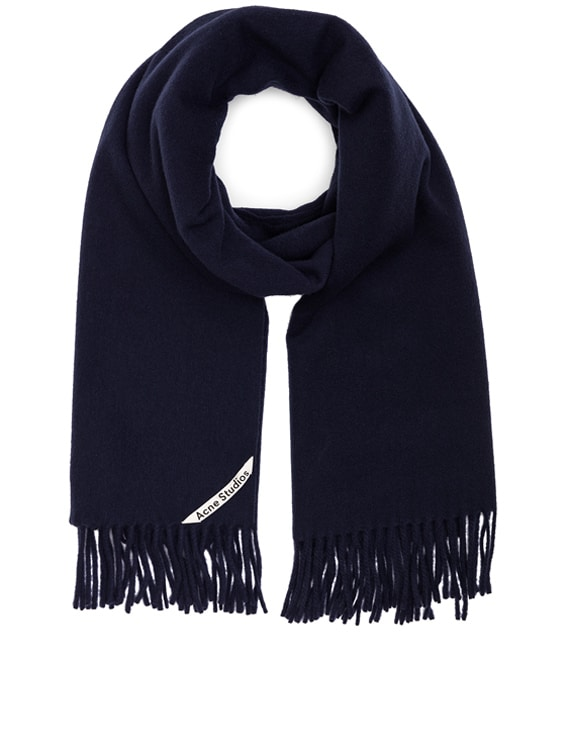 Canada Scarf in Navy