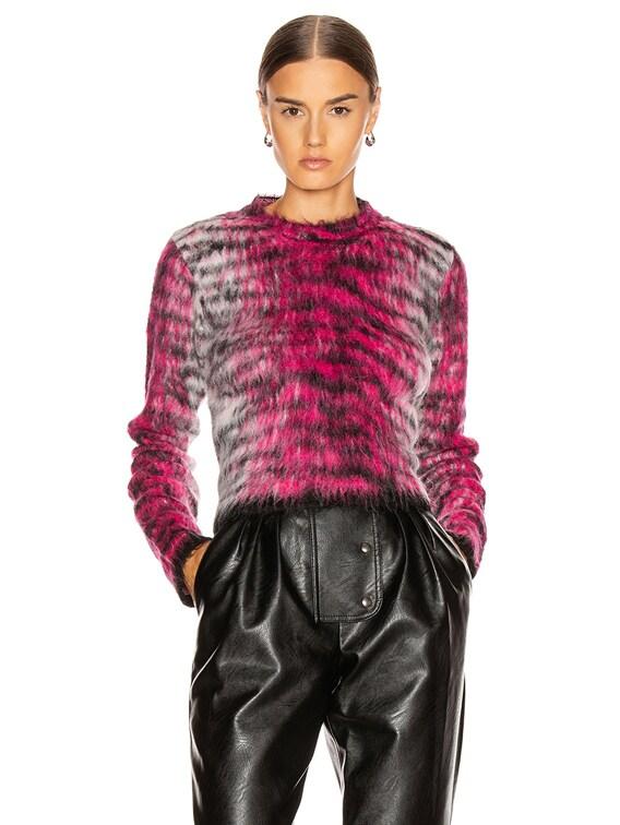 Khangyu Sweater in Pink & Multi