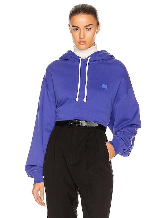 Face Sweatshirt in Electric Blue