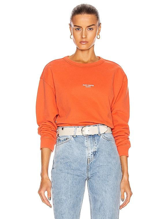 Stamp Sweatshirt in Poppy Red