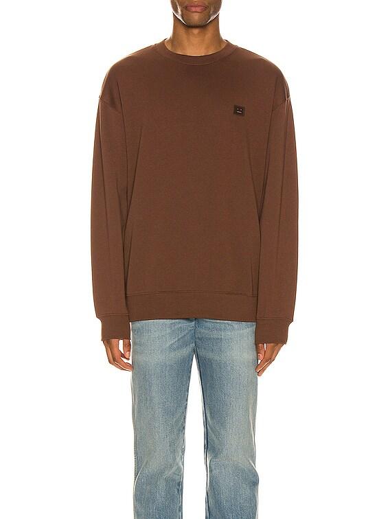 Forba Face Sweatshirt in Dark Brown