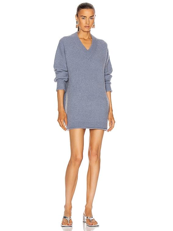 Keandra Sweater in Dusty Blue
