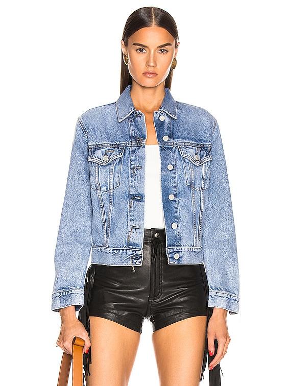 Bla Konst 1999 Trash Jacket in Light Blue Indigo