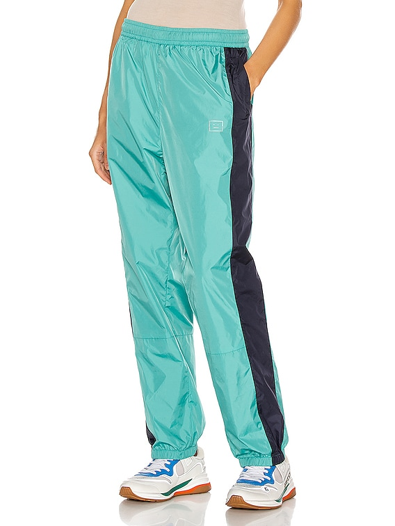 Phoenix Face Track Pant in Jade Green