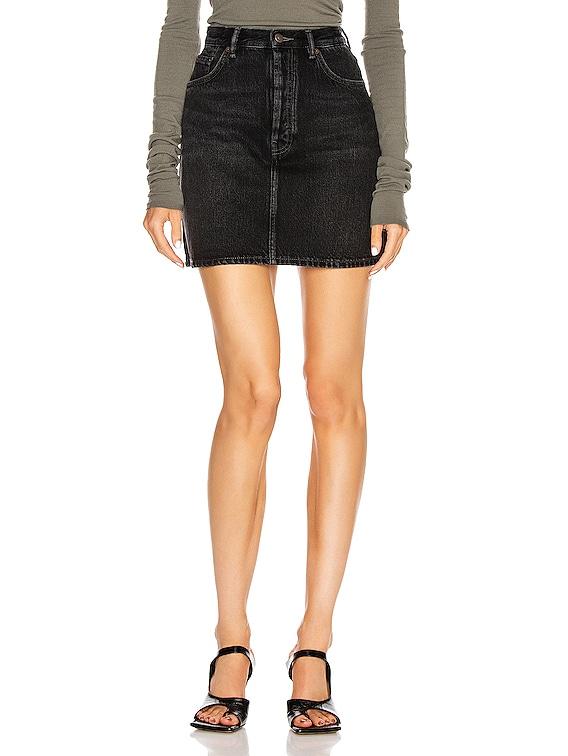 Mini Skirt in Black