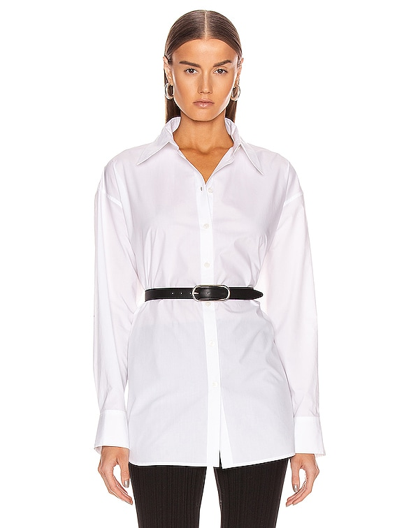 Poplin Shirt in White