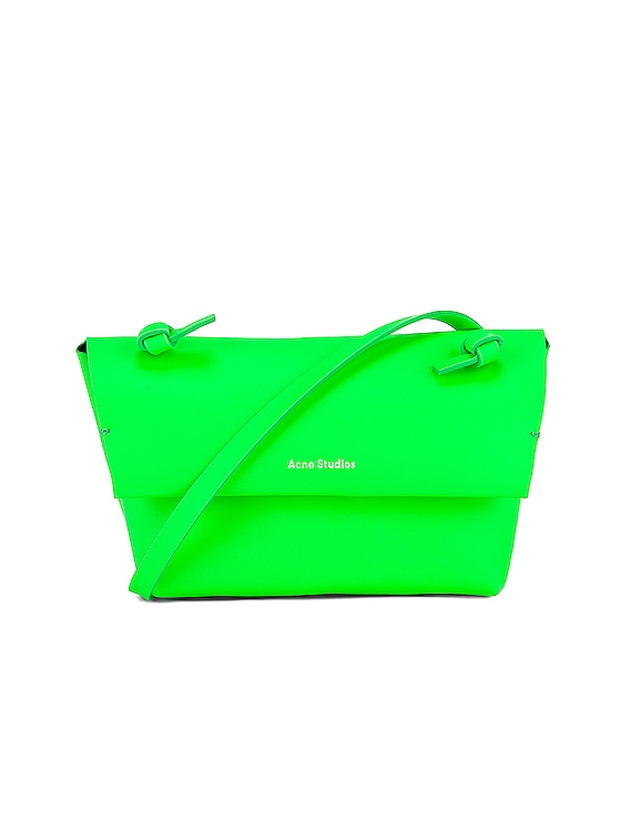 Mini Bag in Fluo Green