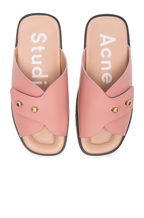 Acne Studios Leather Jilly Sandals in