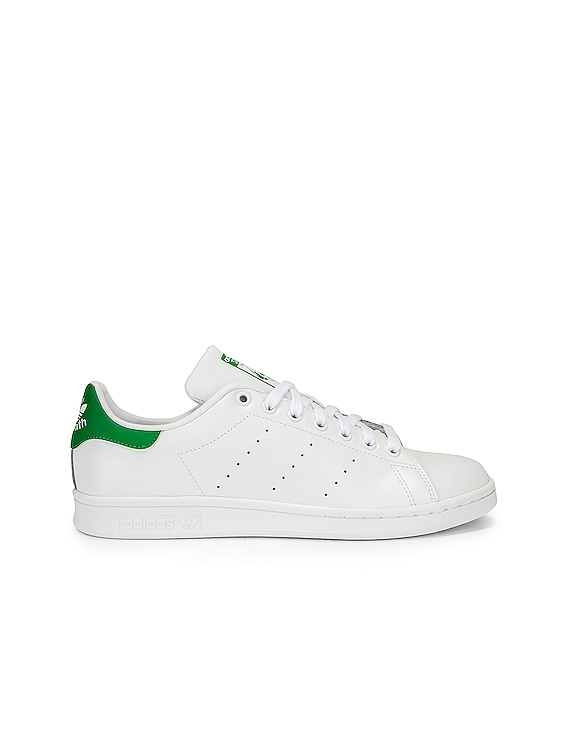Stan Smith in White & Green