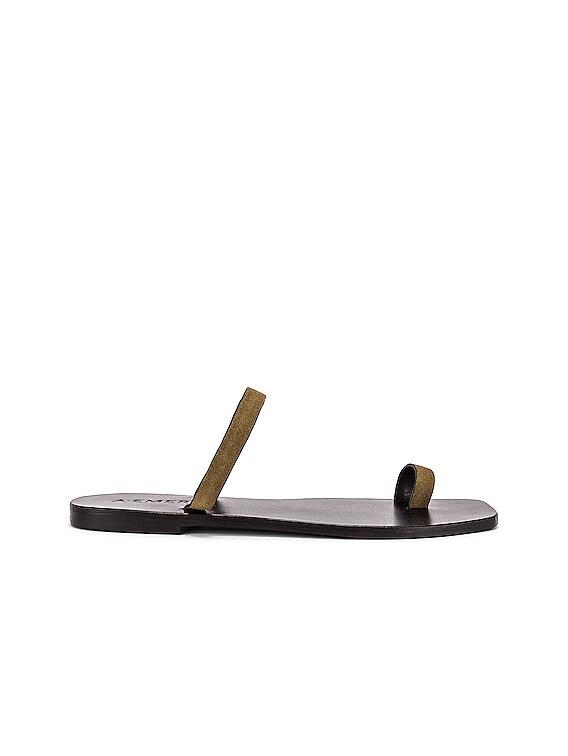 Kin Sandal in Khaki