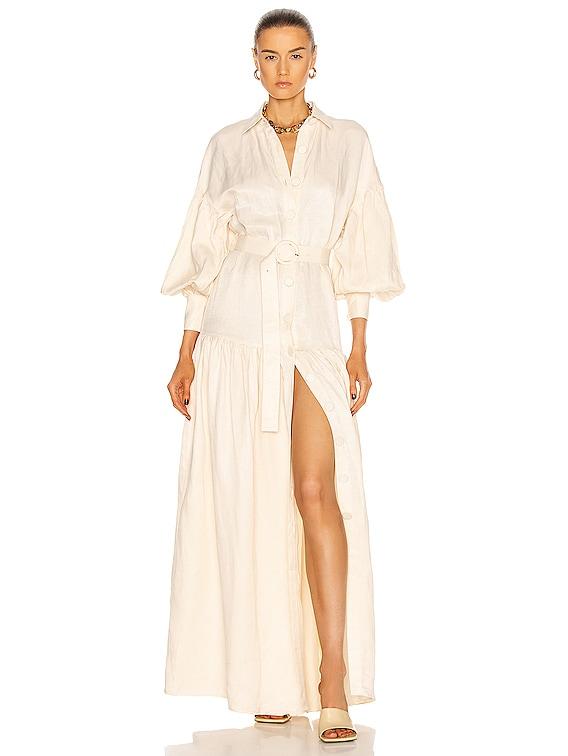 Bella Maxi Dress in Cream