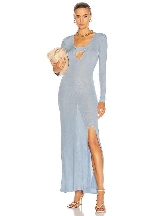 Stevie Dress in Blue