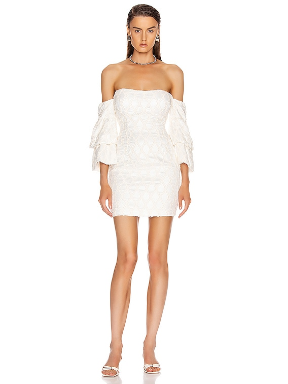 New Theory Dress in Ivory