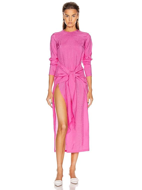 The Paris Dress in Shocking Pink