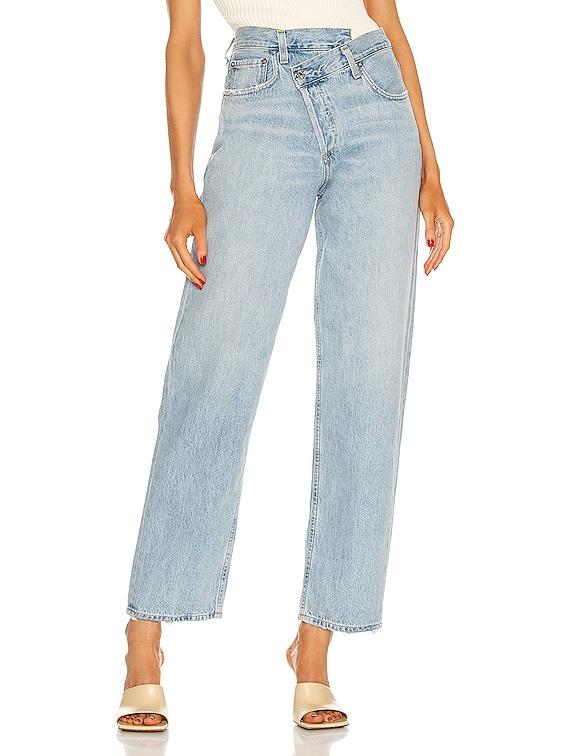 Criss Cross Upsized Jean in Suburbia