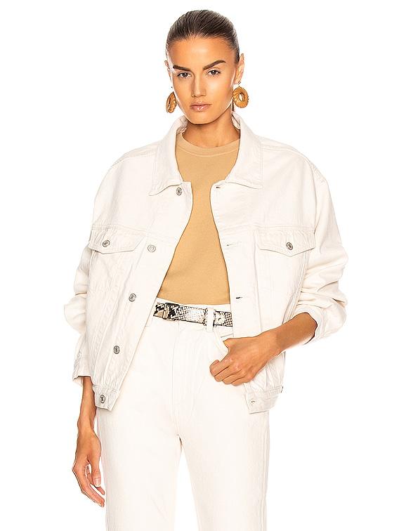 Charli Jacket in Paper